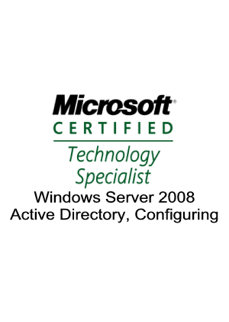 What The Tech is certified to provide Active Directory services for your company