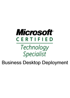 What The Tech is certified to provide enterprise class desktop services for your company